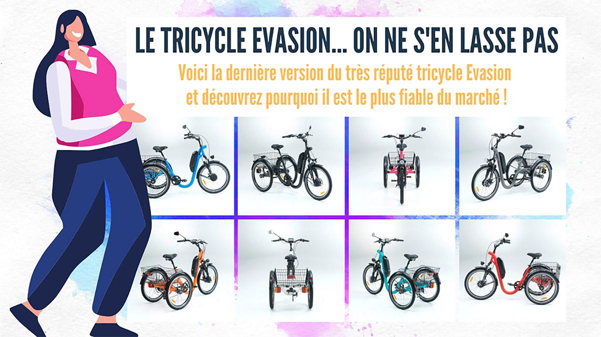 Fiabilité tricycle adulte