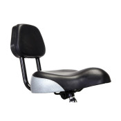 SADDLE WITH BACKREST