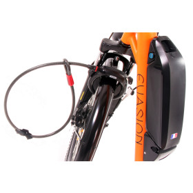 Antivol blocage roue avant + câble