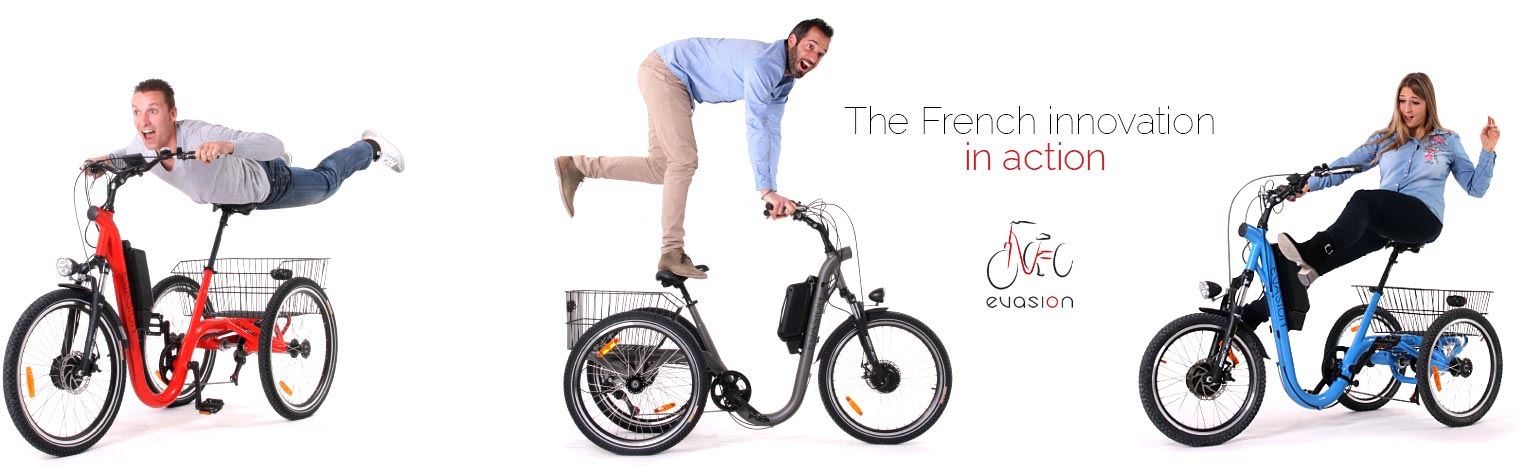 The French innovation in action: French tricycle Evasion